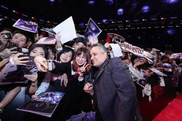 Joe Russo at the Avengers Endgame China Fan Event Red Carpet