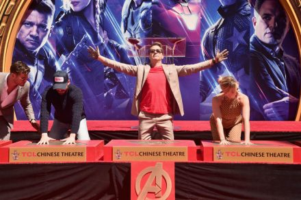 AVENGERS- ENDGAME Handprints at Chinese Theatre-15