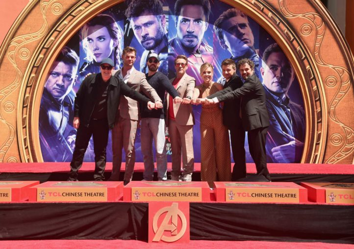 AVENGERS- ENDGAME Handprints at Chinese Theatre-29