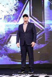 SEOUL, SOUTH KOREA - APRIL 15: Kevin Feige attends the filmmakers press conference for Marvel Studios' 'Avengers: Endgame' South Korea premiere on April 15, 2019 in Seoul, South Korea. (Photo by Chung Sung-Jun/Getty Images for Disney)