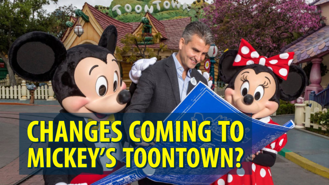 Disneyland President Josh D'Amaro Teases Changes Coming to Mickey's Toontown on Instagram