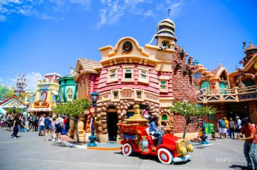 Mickeys Toontown on Day Mickey and Minnies Runaway Railway is Announced for Disneyland-5
