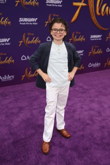 "LOS ANGELES, CA - MAY 21: Raphael Alejandro attends the World Premiere of Disney's ""Aladdin"" at the El Capitan Theater in Hollywood CA on May 21, 2019, in the culmination of the film's Magic Carpet World Tour with stops in Paris, London, Berlin, Tokyo, Mexico City and Amman, Jordan. (Photo by Jesse Grant/Getty Images for Disney) *** Local Caption *** Raphael Alejandro"