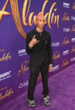 "LOS ANGELES, CA - MAY 21: Jaden Smith attends the World Premiere of Disney's ""Aladdin"" at the El Capitan Theater in Hollywood CA on May 21, 2019, in the culmination of the film's Magic Carpet World Tour with stops in Paris, London, Berlin, Tokyo, Mexico City and Amman, Jordan. (Photo by Jesse Grant/Getty Images for Disney) *** Local Caption *** Jaden Smith"