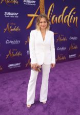"LOS ANGELES, CA - MAY 21: Candace Cameron-Bure attends the World Premiere of Disney's ""Aladdin"" at the El Capitan Theater in Hollywood CA on May 21, 2019, in the culmination of the film's Magic Carpet World Tour with stops in Paris, London, Berlin, Tokyo, Mexico City and Amman, Jordan. (Photo by Jesse Grant/Getty Images for Disney) *** Local Caption *** Candace Cameron-Bure"