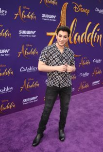 """LOS ANGELES, CA - MAY 21: Manny Gutierrez attends the World Premiere of Disney's """"Aladdin"""" at the El Capitan Theater in Hollywood CA on May 21, 2019, in the culmination of the film's Magic Carpet World Tour with stops in Paris, London, Berlin, Tokyo, Mexico City and Amman, Jordan. (Photo by Jesse Grant/Getty Images for Disney) *** Local Caption *** Manny Gutierrez"""