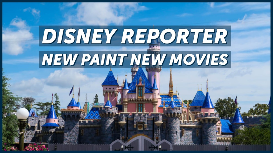 New Paint New Movies - DISNEY Reporter