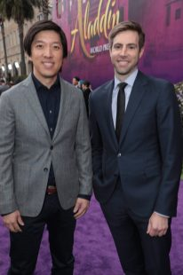 Producers Dan Lin and Jonathan Eirich attend the World Premiere of DisneyÕs Aladdin at the El Capitan Theater in Hollywood, CA on Tuesday, May 21, 2019, in the culmination of the filmÕs Magic Carpet World Tour with stops in Paris, London, Berlin, Tokyo, Mexico City and Amman, Jordan. (photo: Alex J. Berliner/ABImages)