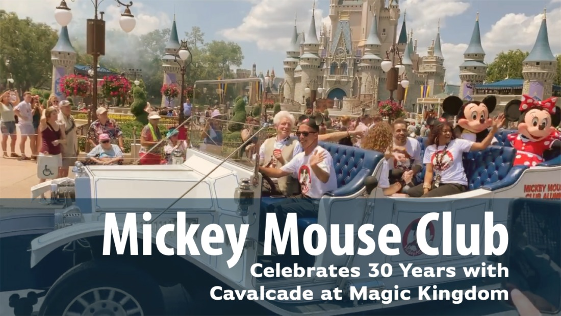 Alumni of the Mickey Mouse Club Visit Walt Disney World's Magic Kingdom!