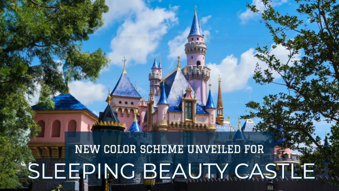 New Castle Color Scheme Revealed at Disneyland Resort Ahead of Star Wars: Galaxy's Edge Later this Month