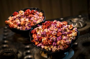 Innovative and creative eats from around the galaxy will be available at Star Wars: GalaxyÕs Edge when it opens May 31, 2019, at Disneyland Park in Anaheim, Calif., and Aug. 29, 2019, at Disney's Hollywood Studios in Lake Buena Vista, Fla. The Outpost Mix can be found at Kat SakaÕs Kettle, located in the Black Spire Outpost market inside Star Wars: GalaxyÕs Edge. (David Roark/Disney Parks)