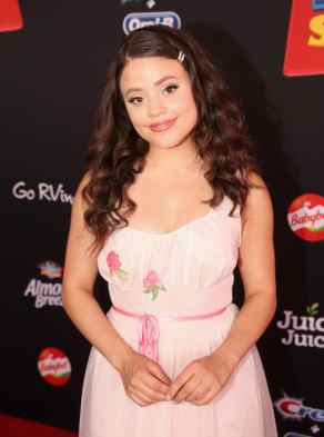 HOLLYWOOD, CA - JUNE 11: Sarah Jeffery attends the world premiere of Disney and Pixar's TOY STORY 4 at the El Capitan Theatre in Hollywood, CA on Tuesday, June 11, 2019. (Photo by Jesse Grant/Getty Images for Disney) *** Local Caption *** Sarah Jeffery