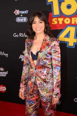 HOLLYWOOD, CA - JUNE 11: Melissa Villaseñor attends the world premiere of Disney and Pixar's TOY STORY 4 at the El Capitan Theatre in Hollywood, CA on Tuesday, June 11, 2019. (Photo by Jesse Grant/Getty Images for Disney) *** Local Caption *** Melissa Villaseñor