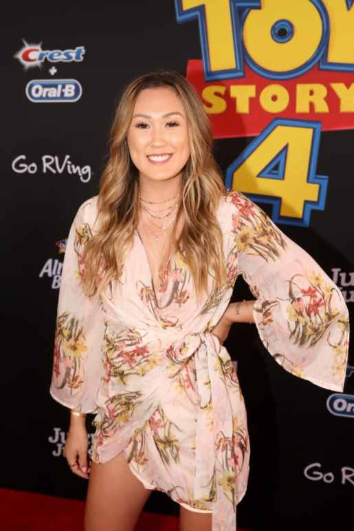 HOLLYWOOD, CA - JUNE 11: Lauren Riihimaki attends the world premiere of Disney and Pixar's TOY STORY 4 at the El Capitan Theatre in Hollywood, CA on Tuesday, June 11, 2019. (Photo by Jesse Grant/Getty Images for Disney) *** Local Caption *** Lauren Riihimaki