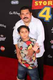 HOLLYWOOD, CA - JUNE 11: Guillermo Rodriguez and family attend the world premiere of Disney and Pixar's TOY STORY 4 at the El Capitan Theatre in Hollywood, CA on Tuesday, June 11, 2019. (Photo by Jesse Grant/Getty Images for Disney) *** Local Caption *** Guillermo Rodriguez