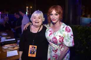 HOLLYWOOD, CA - JUNE 11: (L-R) June Squibb and Christina Hendricks attend the world premiere of Disney and Pixar's TOY STORY 4 at the El Capitan Theatre in Hollywood, CA on Tuesday, June 11, 2019. (Photo by Alberto E. Rodriguez/Getty Images for Disney) *** Local Caption *** Christina Hendricks; June Squibb