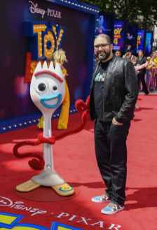 """LONDON, ENGLAND - JUNE 16: Director Josh Cooley attends the European premiere of Disney and Pixar's """"Toy Story 4"""" at the Odeon Luxe Leicester Square on June 16, 2019 in London, England. (Photo by Gareth Cattermole/Getty Images for Disney and Pixar)"""