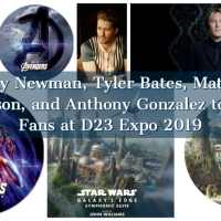 Oscar-Winning Composer and Disney Legend Randy Newman, Composer Tyler Bates, Matthew Morrison, and Anthony Gonzalez to Meet Fans at D23 Expo 2019