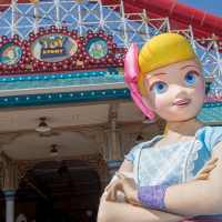 Bo Peep Comes Out to Play on Pixar Pier at Disney California Adventure Park with Her New Look