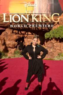 """HOLLYWOOD, CALIFORNIA - JULY 09: Raven-Symone attends the World Premiere of Disney's """"THE LION KING"""" at the Dolby Theatre on July 09, 2019 in Hollywood, California. (Photo by Alberto E. Rodriguez/Getty Images for Disney)"""