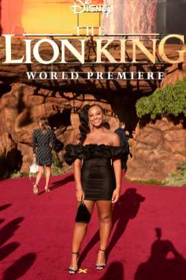 """HOLLYWOOD, CALIFORNIA - JULY 09: Nia Sioux attends the World Premiere of Disney's """"THE LION KING"""" at the Dolby Theatre on July 09, 2019 in Hollywood, California. (Photo by Alberto E. Rodriguez/Getty Images for Disney)"""