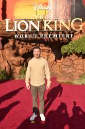 """HOLLYWOOD, CALIFORNIA - JULY 09: Jimmy Kimmel attends the World Premiere of Disney's """"THE LION KING"""" at the Dolby Theatre on July 09, 2019 in Hollywood, California. (Photo by Alberto E. Rodriguez/Getty Images for Disney)"""