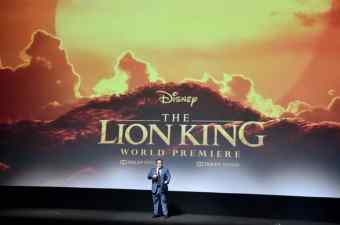 """HOLLYWOOD, CALIFORNIA - JULY 09: Director/producer Jon Favreau attends the World Premiere of Disney's """"THE LION KING"""" at the Dolby Theatre on July 09, 2019 in Hollywood, California. (Photo by Alberto E. Rodriguez/Getty Images for Disney)"""