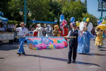 Disneyland 64th Birthday Cavalcade-2