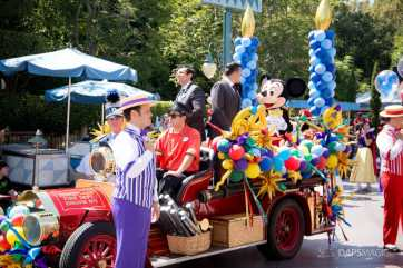 Disneyland 64th Birthday Cavalcade-35