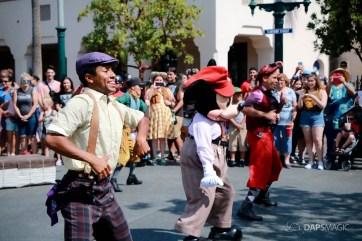 Final Performance Red Car Trolley News Boys at Disney California Adventure-25