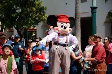 Final Performance Red Car Trolley News Boys at Disney California Adventure-6