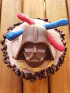 GCH Craftsman Bar & Grill Darth Vader Chocolate Cupcake (with chocolate covered Pop Rocks)_04