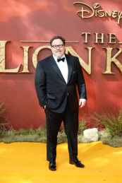 "Jon Favreau attends the European Premiere of Disney's ""The Lion King"" at the Odeon Leicester Square on 14th July 2019 in London, UK"