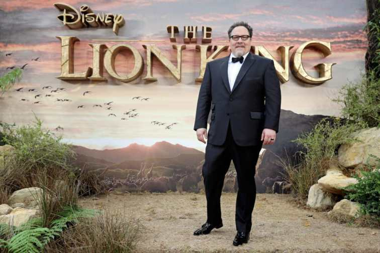 Jon Favreau attends the European Premiere of DisneyÕs ÒThe Lion KingÓ at the Odeon Leicester Square on 14th July 2019 in London, UK