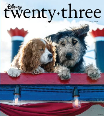 2019 Disney twenty-three magazine cover