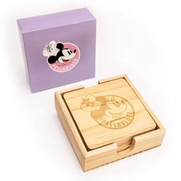 Chef Minnie Walt Disney World Resort Annual Passholder Coaster Set