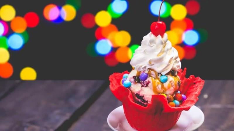 Gibson Girl Ice Cream Parlor - Main Street Electrical Parade Food