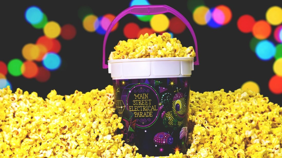 Main Street Electrical Parade Popcorn Buckets