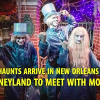 Happy Haunts Arrive in New Orleans Square at Disneyland to Meet With Mortals! [Updated]