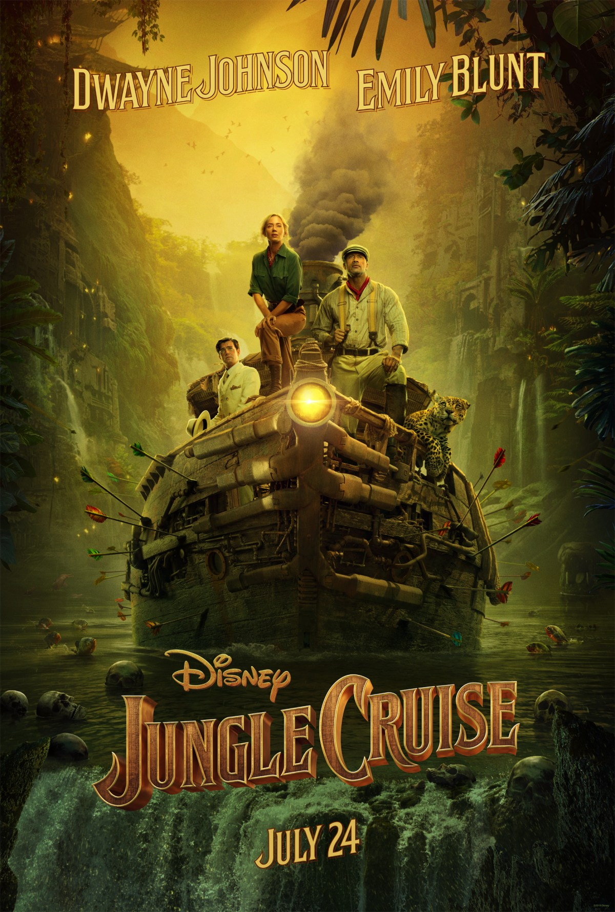 Disney's The Jungle Cruise Poster