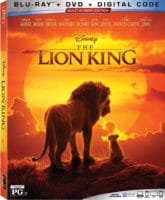 The Lion King Blu-Ray Box Art