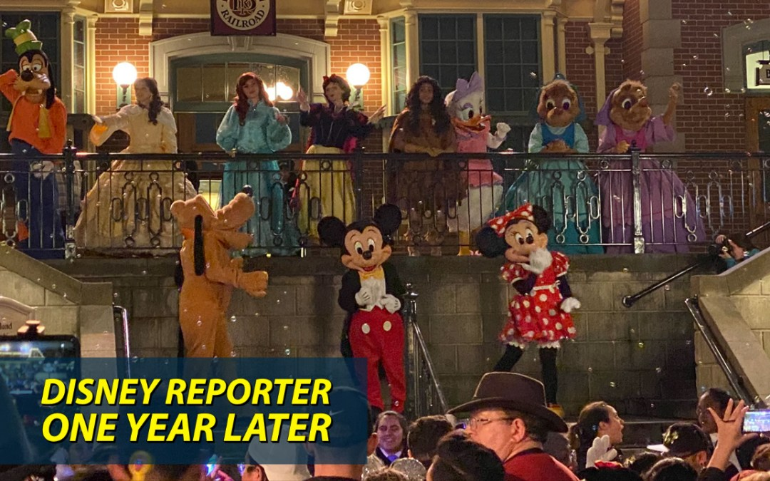 One Year Later – DISNEY Reporter