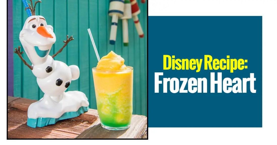 Disney Recipes: Frozen Heart
