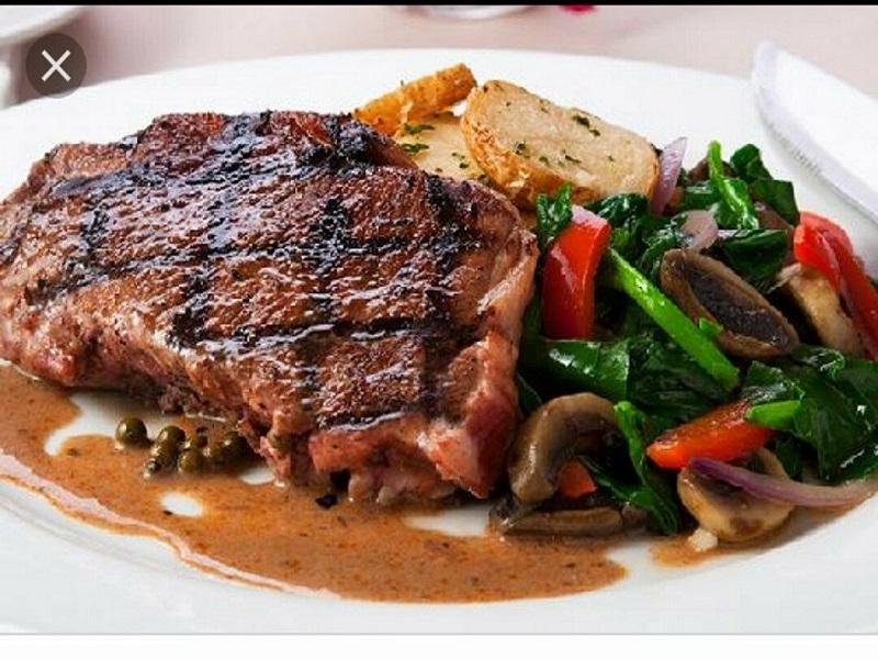 Steak daging lezat dan nikmat