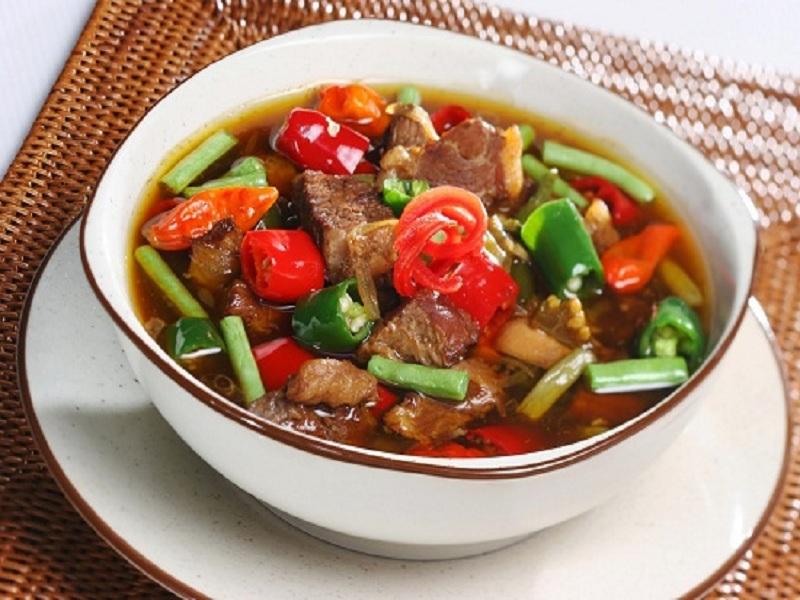 Resep Garang Asem Daging Istimewa khas Pekalongan