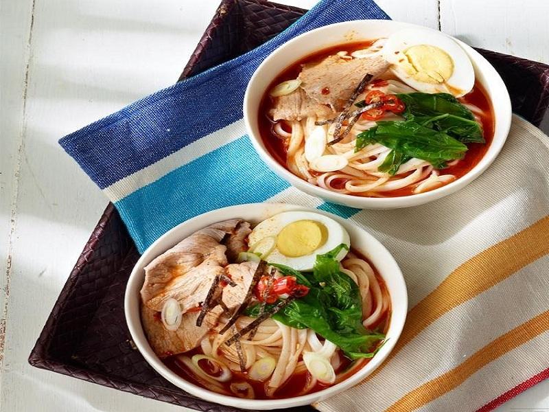 Resep Masakan Mie Jepang Udon Kuah Pedas