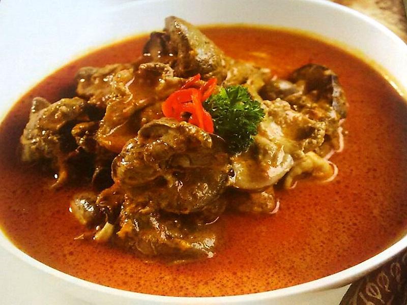 Resep Kalio Ati Ampela Ayam Khas Padang