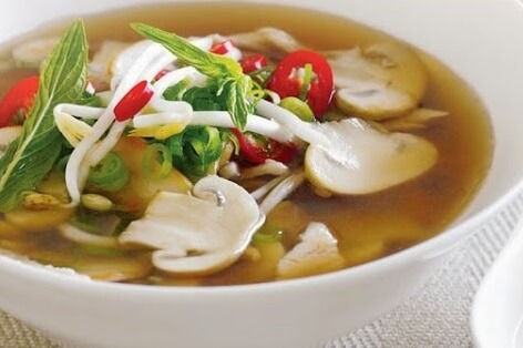 Resep Sup Bebek Jamur