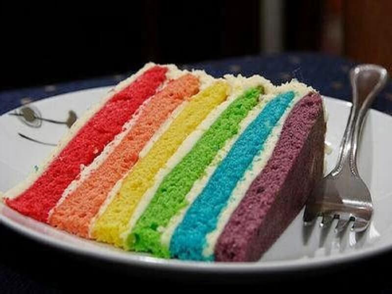 resep rainbow cake kukus untuk ulang tahun