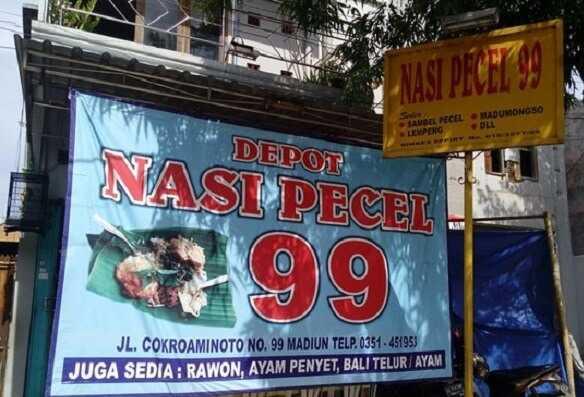 Depot Nasi Pecel Di Madiun